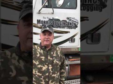 AMERICAN LOGGERS INSURANCE I Sherby Morris of Morris Logging